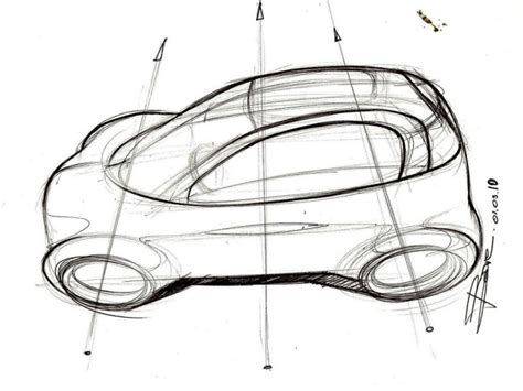drawing tutorial online review how to sketch a car in top view car body design