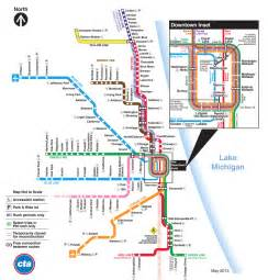 chicago l map chicago cta map map2