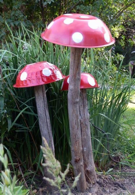 Gartendeko Pilz by 50 Ideen F 252 R Diy Gartendeko Und Kreative Gartengestaltung