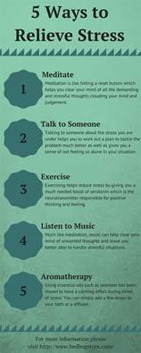 how to relieve anxiety 5 ways to relieve stress bedbug store