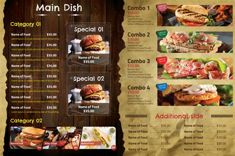 current decor trend decor trend restaurant menu design trends 10 restaurant menu card designs design trends premium