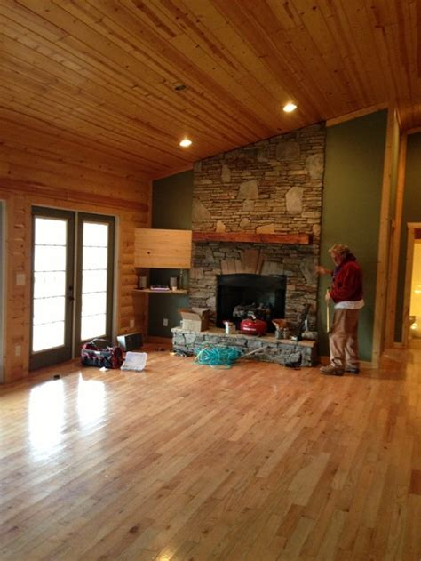 Log Cabin Interior Paint Colors interior paint color for log cabin style greatroom