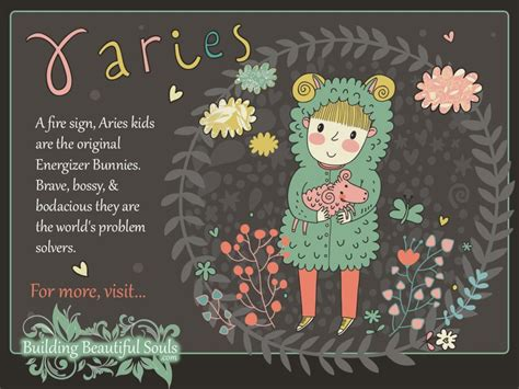 aries child aries girl boy traits personality zodiac signs  kids