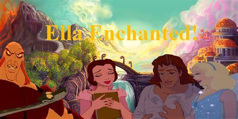 Enchanted Disney Fan 16178221 Fanpop Ella Enchanted Disney Crossover Photo 31452862 Fanpop