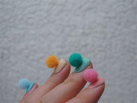 Fashion Pompom 6621 unhas de pom pom we fashion trends