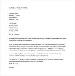 Executive Cover Letter Template Word 13 General Cover Letter Templates Free Sle Exle