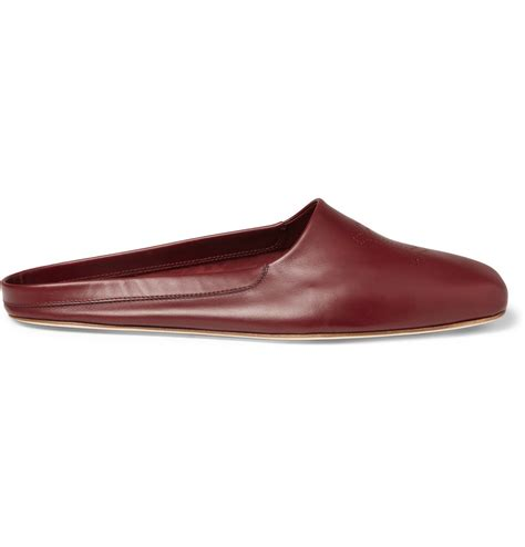 leather slippers for lobb leather slippers in for lyst
