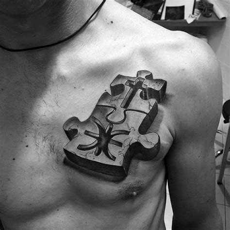 small mens chest tattoos 50 small chest tattoos for guys masculine ink design ideas
