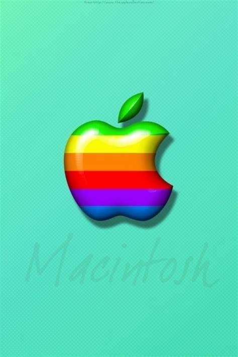 colorful wallpaper iphone 4 apple logo design iphone 4 wallpapers free 640x960 hd