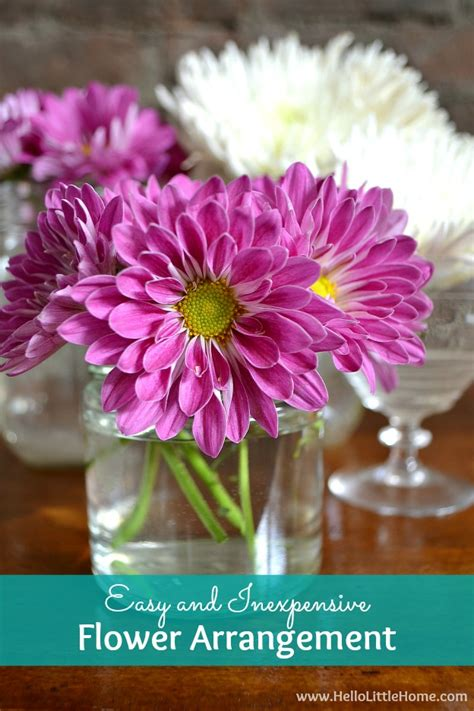 inexpensive flowers easy and inexpensive flower arrangement