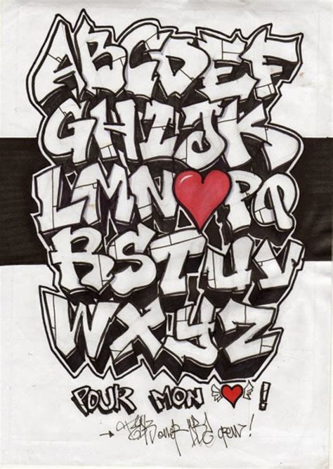 learn    graffiti letters  graffitianz