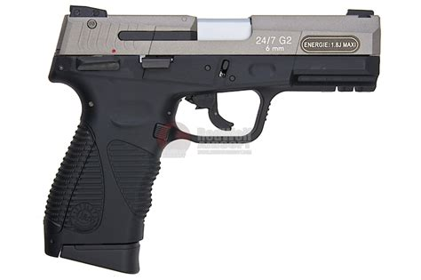Airgun Airgun Kwc Taurus 24 cybergun taurus 24 7 2 silver co2 gbb by kwc buy