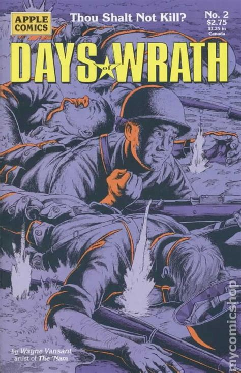 the brunist day of wrath books days of wrath 1993 comic books