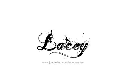 lacey tattoos name designs