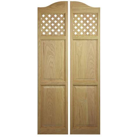 custom swinging doors custom oak full length swinging interior doors cafe doors