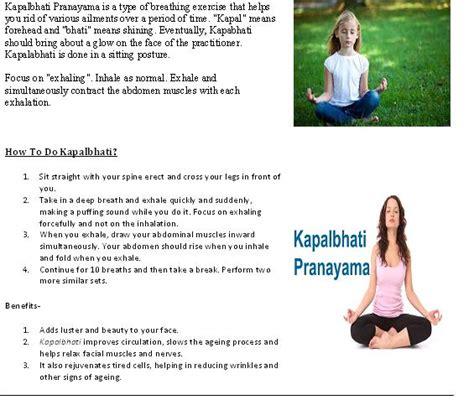 Anuloma Viloma Pranayama Breathing Exercise by Benefits Of Anulom Vilom Pranayama Pdf
