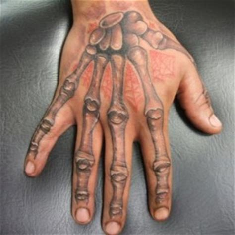Cool Tattoo Designs For Hands : Big Black Eye Hand Tattoo