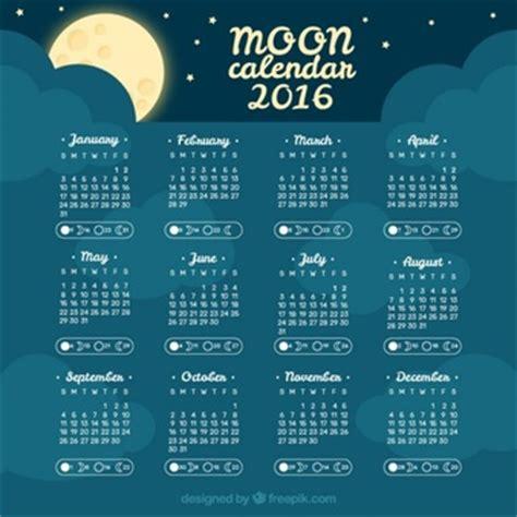 calendario lunar 2016 free de juliaro fases da lua vetores e fotos baixar gratis