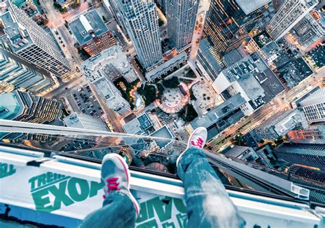 toronto photographer s rooftopping images gain attention