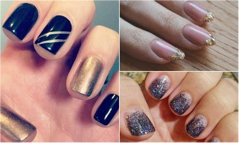 imagenes de uñas de acrilico para jovenes 16 brillantes dise 241 os de u 241 as para tu fiesta de a 241 o nuevo