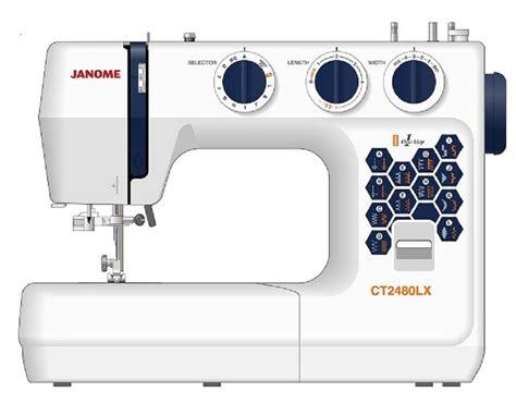 Harga Mesin Jahit Janome Ct 2480 jual janome ct2480lx mesin jahit janome ct2480lx mesin