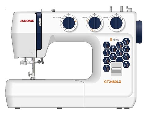 Mesin Jahit Janome Ct2480lx jual janome ct2480lx mesin jahit janome ct2480lx mesin