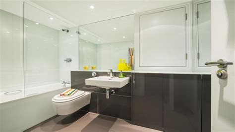 Posh Kensington Shower Bath by Luxury Serviced Apartments South Kensington 3 Harrington