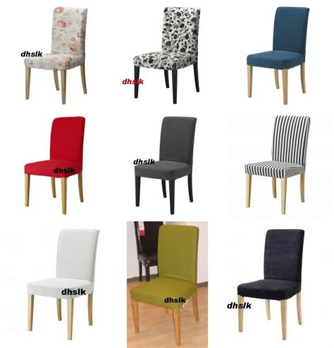 Dining Room Chair Slipcovers Ikea with Ikea Henriksdal Dining Chair Slipcover Cover Discontinued Fabrics 20 Quot 51cm Size Ebay