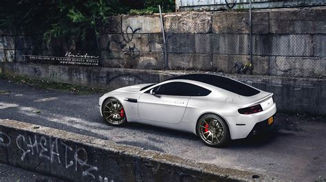 custom aston martin featured fitment aston martin vantage w brixton forged r10s