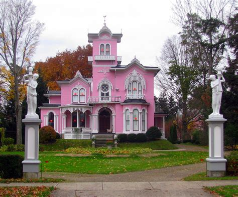 the pink house the pink house in wellsville ny edwin bradford hall a
