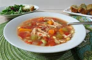 Chicken vegetable soup weekly recap peanut butter and peppers