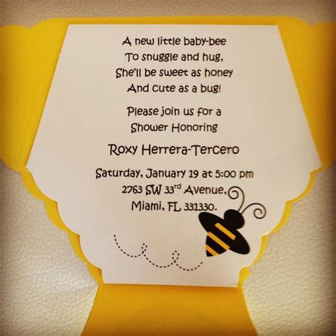 Bee Baby Shower Theme by Kara S Ideas Bee Themed Baby Shower Planning