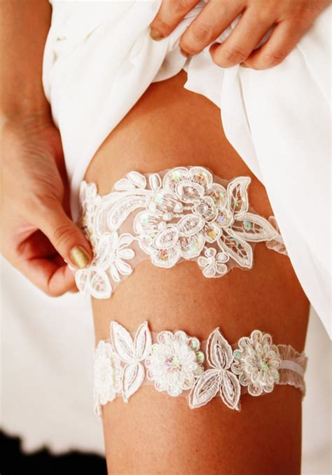 Lace Garter With bridal garter set wedding garters lace garter set floral