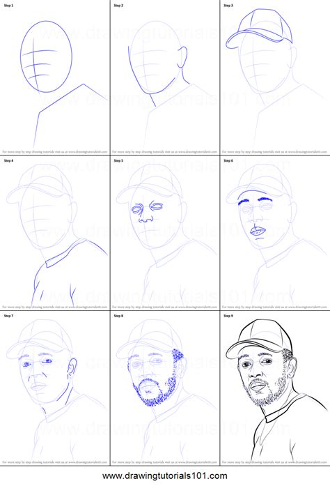 coloring book kendrick lamar how to draw kendrick lamar printable step by step drawing