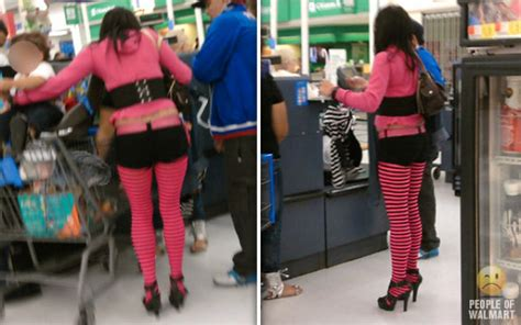 fashion at american walmart really scares