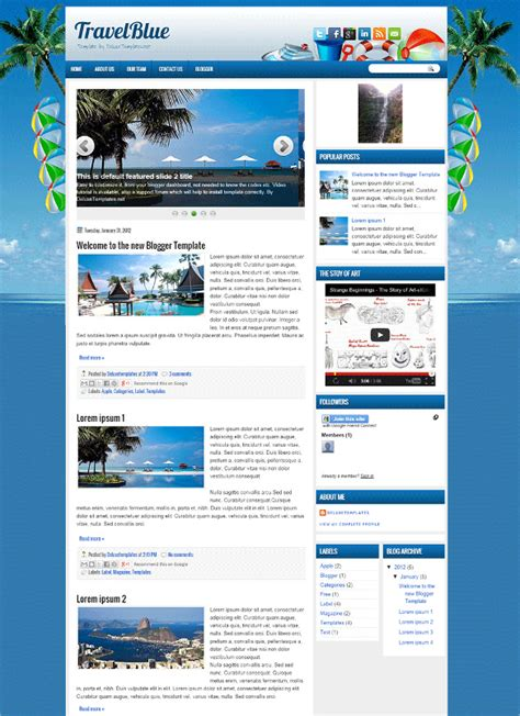 blogger templates for tourism 33 travel tourism blogger themes templates free