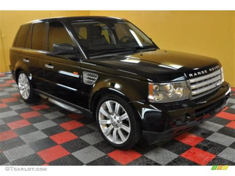 land rover 2007 black 2007 java black pearl land rover range rover sport