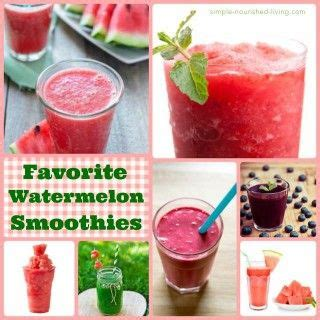 0 point fruit smoothie favorite watermelon smoothies with weight watchers points