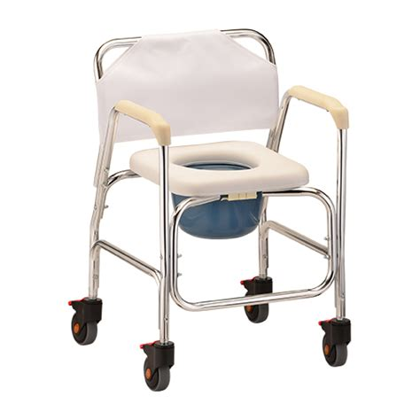 rolling shower chair with padded seat rolling shower chair commode bellevue healthcare