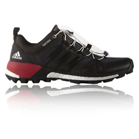 Sepatu Adidas Terrex Boost Original Adidas Terrex Boost Mens Black Trail Walking Outdoors Hiking Shoes Ebay