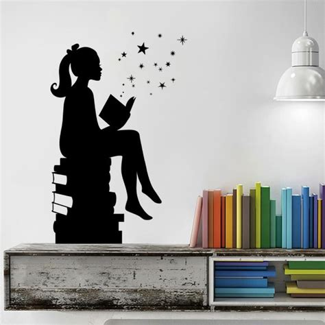 wall decor for library 37 best classroom school wall decals images on pinterest