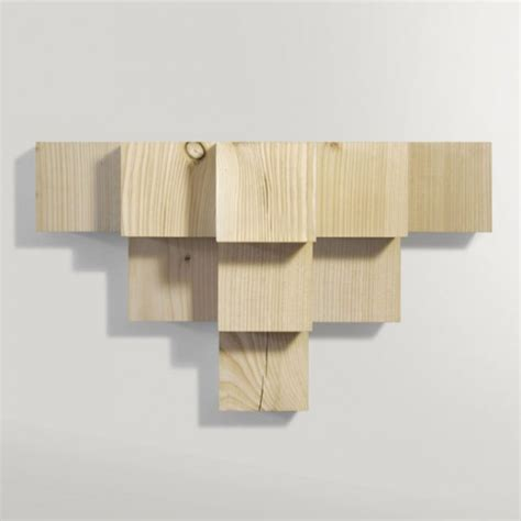 Minimalist Shelf by Minimalist Cubic Shelf Of Douglas Fir Digsdigs