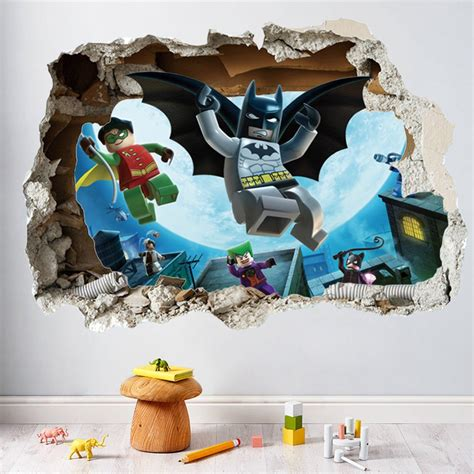 lego batman wallpaper mural online buy wholesale justice league posters from china