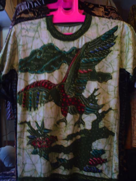 Kaos Greenlight 010 S M L Xl kerajinan kain flanel unik kaos batik khas pekalongan