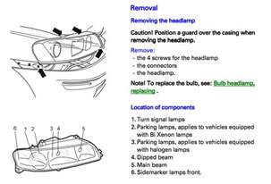 Volvo S60 Low Beam Bulb Replacement Replace Bi Xenon Bulb