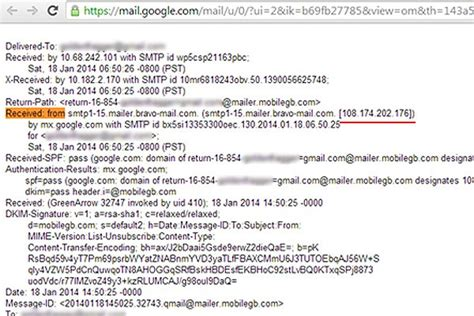 Gmail Search By Email Address How To Find Out The Ip Address Of Email Senders In Gmail