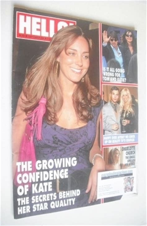 Kate In Magazine I Am A Bit Wacky by Hello Magazine Kate Middleton Cover 5 September 2006