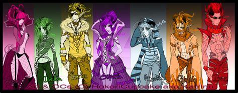 the seven deadly sins 24 seven deadly sins the the 7 deadly sins by hokoricupcake on deviantart