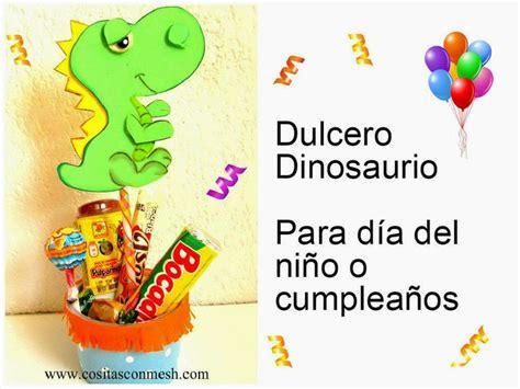 dulceros para el dia del nino manualidades para dia del ni 241 o dulcero dinosaurio