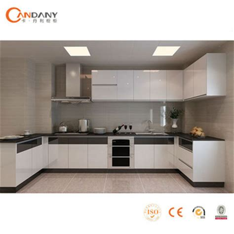 composite kitchen cabinets candany modern lacquer kitchen cabinet aluminium composite